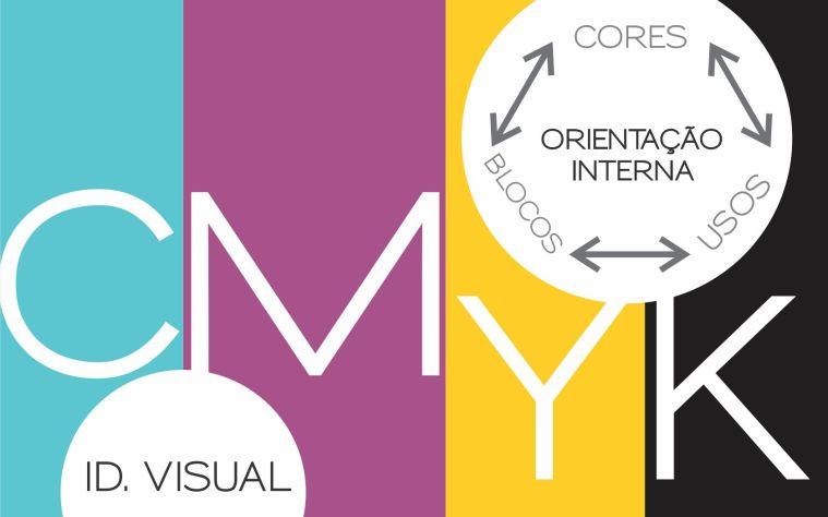 cores usadas na sinalização e identidade visual